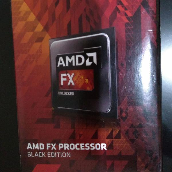 Processador fx-6300 amd novo na caixa e com nota fiscal