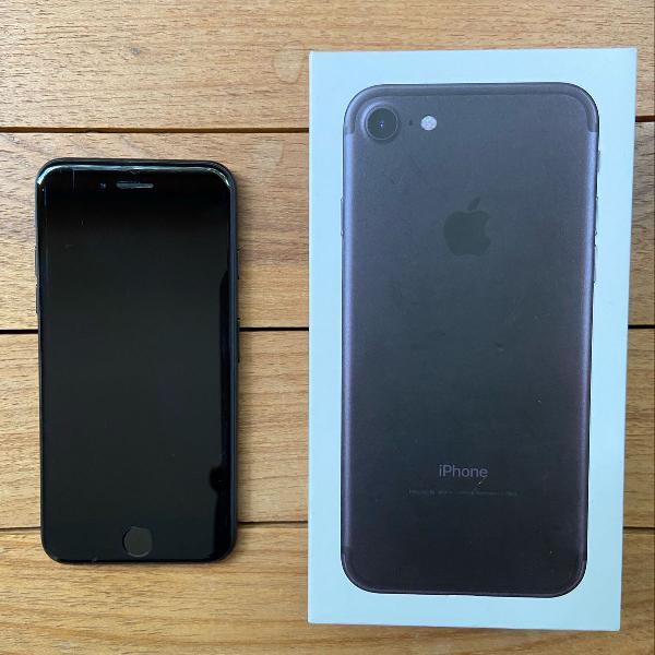 Apple iphone 7 128 gb cor preto matte