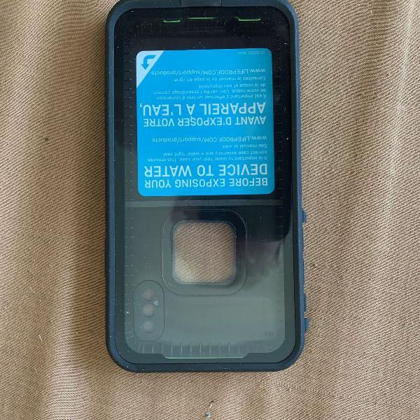 case lifeproof fre series waterproof p/ iphone x
