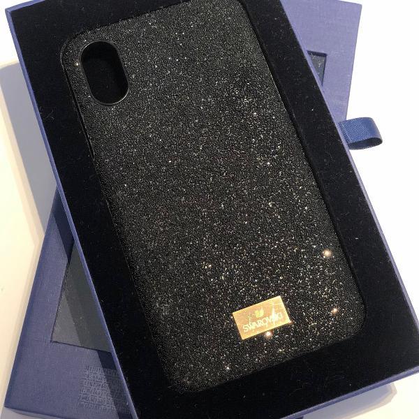 Case para iphone x/xs swarovski original