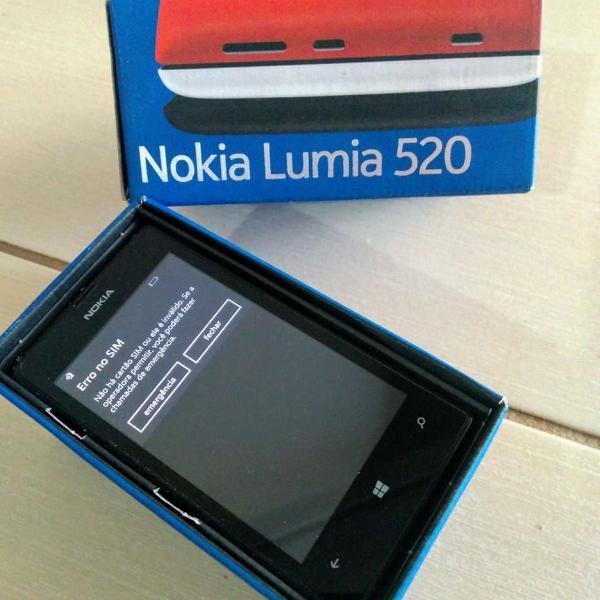 Celular nokia lumia 520 original - sem carregador