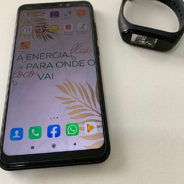 Celular smartphone xiaomi redmi note 6 pro + pulseira mi