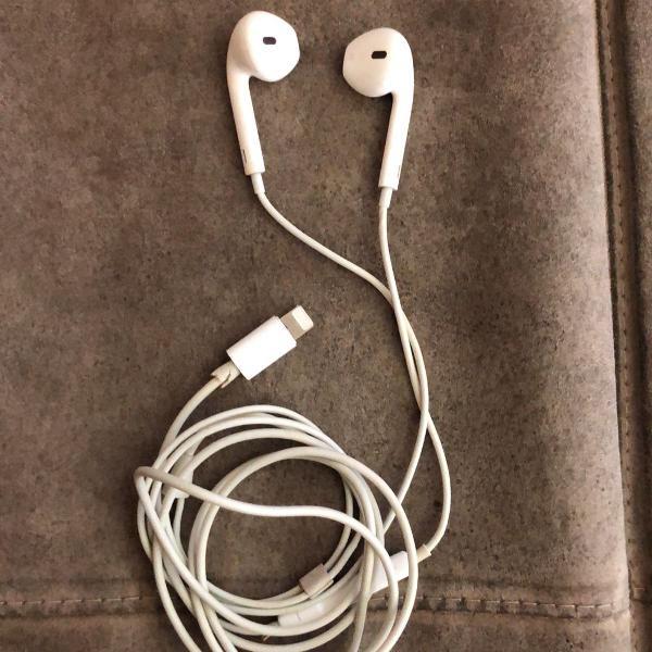 Fone de ouvido iphone 7/8