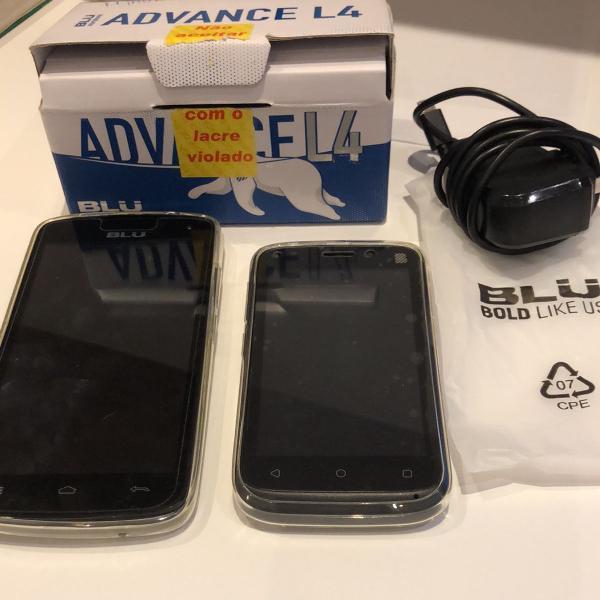 Kit celulares blu
