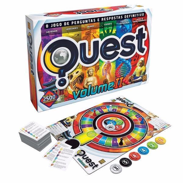 quest volume 2 o jogo de perguntas e resposta