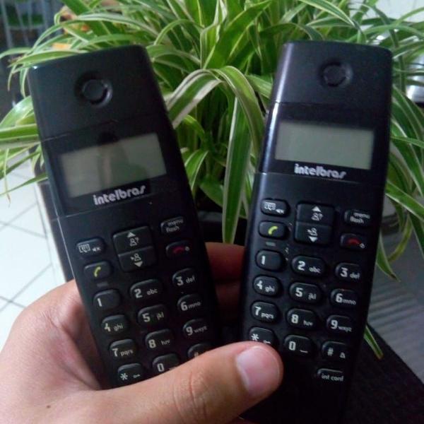 Telefone s/ fio dect ts40c base +ramal - intelbrás