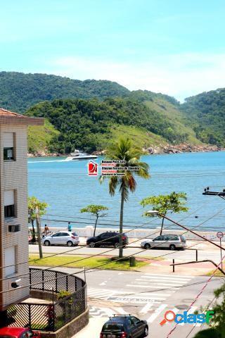 Apartamento vista mar 1 dormitório, 1 vaga,ponta da praia, santos