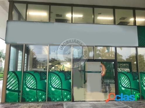 Loja frontal 330m², centro empresarial mario henrique simonsen - barra