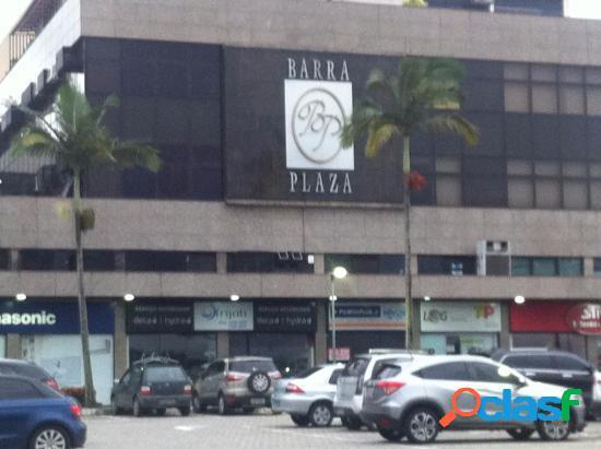 Barra plaza - sala comercial com 35 m2 em rio de janeiro - barra da tijuca por 700,00 para alugar