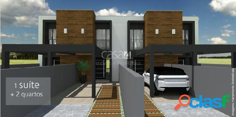 Casa com 3 dorms em joinville - floresta por 290 mil à venda