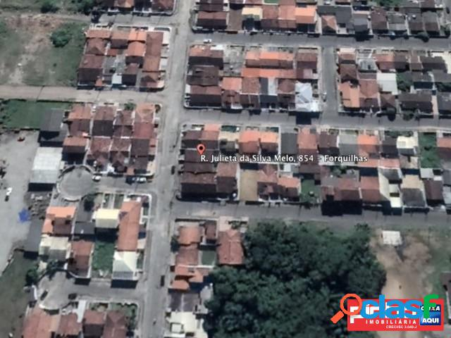 Casa Geminada, Venda Direta Caixa, Loteamento Santa Felicidade, Bairro Forquilhas, São José, SC 1