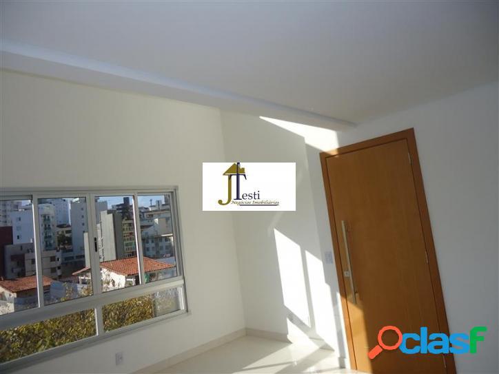 Linda cobertura 2 quartos, 2 suítes, 2 vagas, fino acabamento, Cidade Nova - Belo Horizonte 2