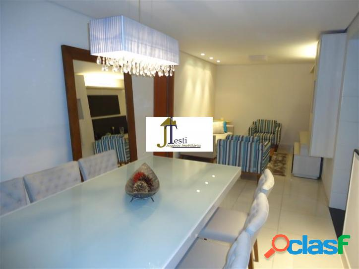 Lindo apartamento, fino acabamento, decorado, 3 quartos, 2 vagas, elevador, condomínio econômico- b. união