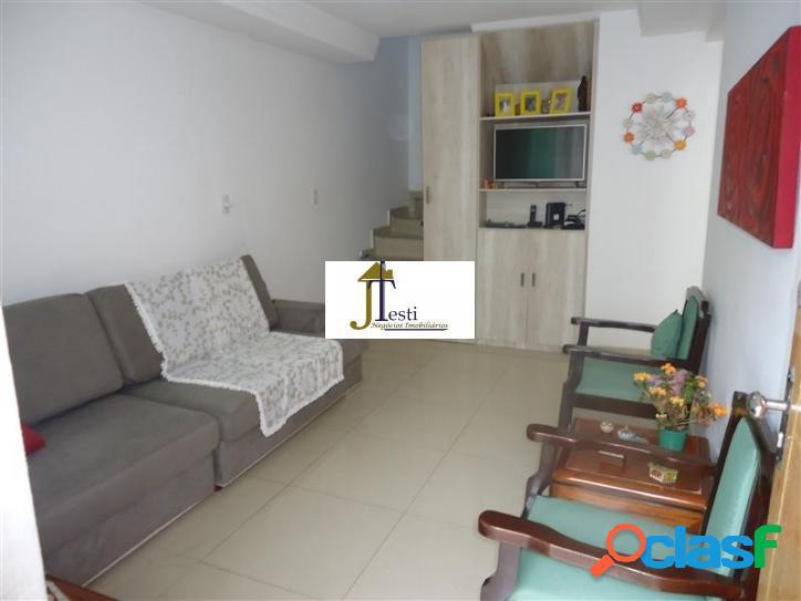 Casa geminada 3 quartos, ótimo acabamento, próxima a estação de metrô do bairro floramar