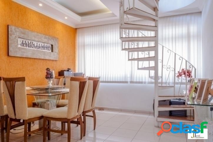 Cobertura 4 quartos, excelente localização, região rica em comércio - b. silveira