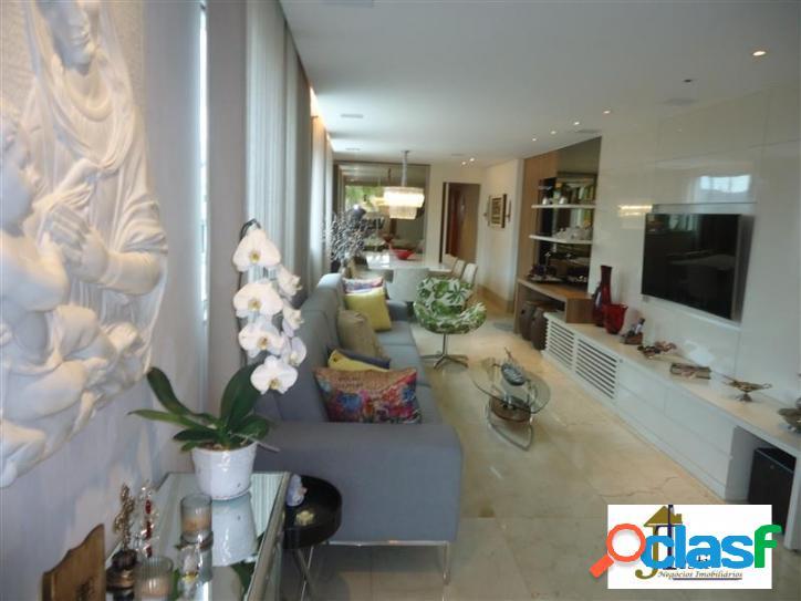 Apartamento alto padrão,mobiliado, 4 qtºs, 2 suítes, 4 vagas - cid.nova