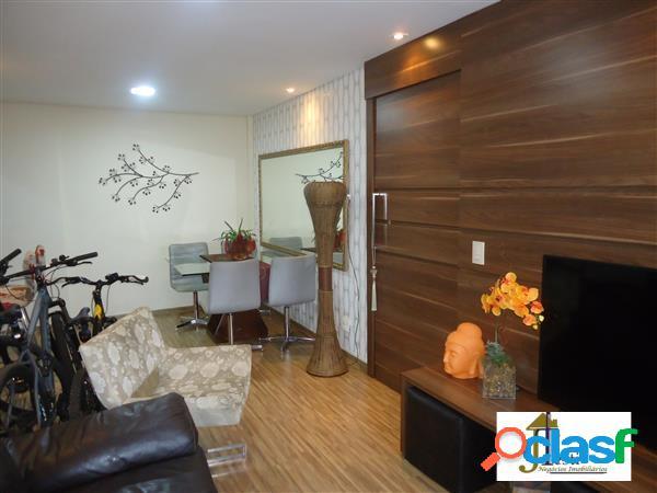 Apartamento 2 quartos, suíte,1 vaga,elevador, fino acabamento- b. da graça