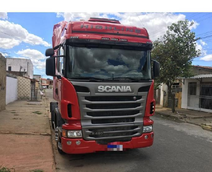 Scania highiline r 420 ano 2011 6x4
