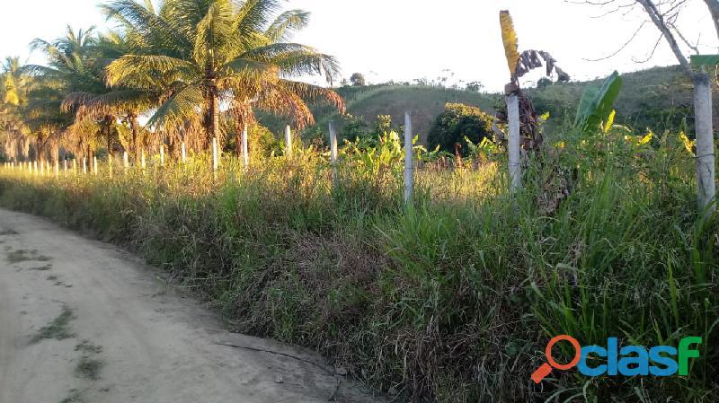 Excelente propriedade em Vitória, com 3 hectares, plana
