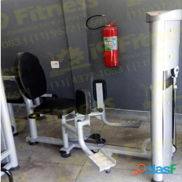Maquina de musculação adutora/abdutora em 10x s/ juros