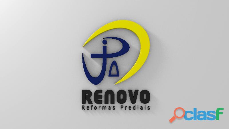 Obras e Reformas Corporativas Manutenção Reforma Predial Pintura Limpeza Fachada Prédios Renovo BH 4