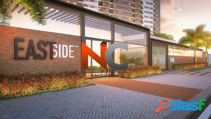 East side méier - apartamento com 2 dorms - r$ 316 mil, 55m².