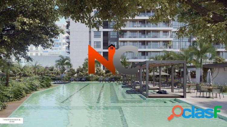 Ícono parque residências - apartamento com 2 dorms/suíte - 72,87m².