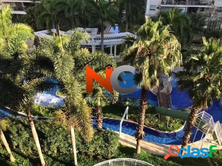 Barra family resort - apartamento com 2 dorms - 67,51m²