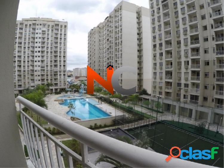 Norte village - torre penedo - apartamento com 2 quartos - 52,47m².