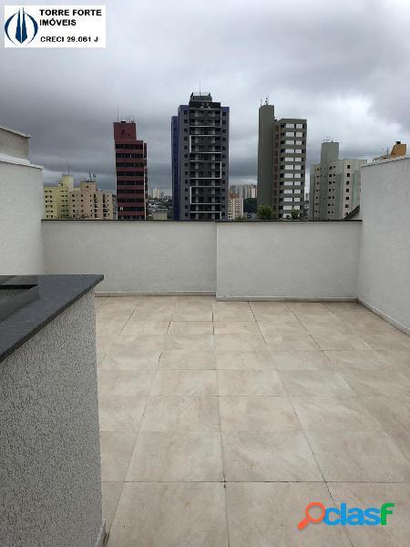 Lindo apartamento cobertura novo com 2 dormitórios no camilópolis. 1 vaga!