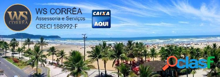 Apartamento mobiliado a venda - praia grande, litoral paulista, sp