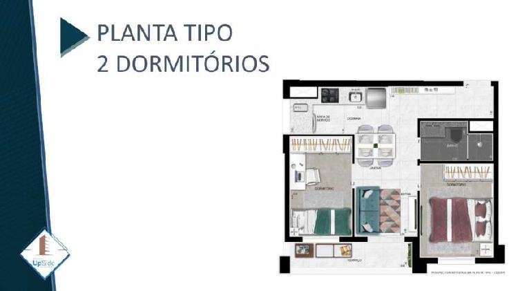 Apartamento Vila Prudente de 1 e 2 dormitórios ao lado do