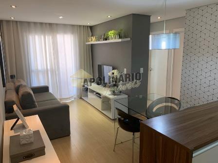 Apartamento com ótimo acabamento, mobiliado, área
