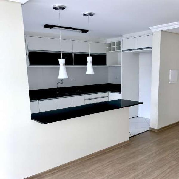 Apartamento novo para venda 2 quartos 1 suíte no bacacheri