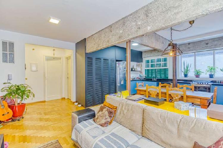 Excelente apartamento reformado e mobiliado na vila olímpia