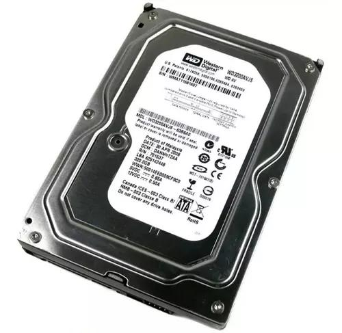 Hd 320gb desktop pc dvr cftv sata