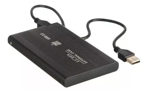 Hd externo portátil slim 500gb + cabo usb 2.0