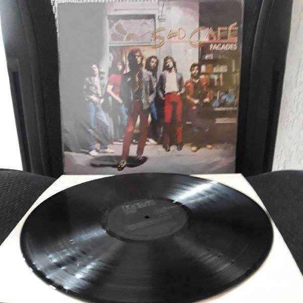Lp sad café facades vinil importado uk rock pop doors