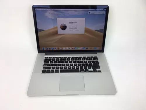 Macbook pro a1398 2013 15 poleg. i7 8gb 256ssd - impecável