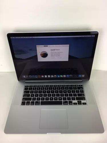 Macbook pro a1398 i7 2014 15 pol. 16gb 256ssd - 5 ciclos