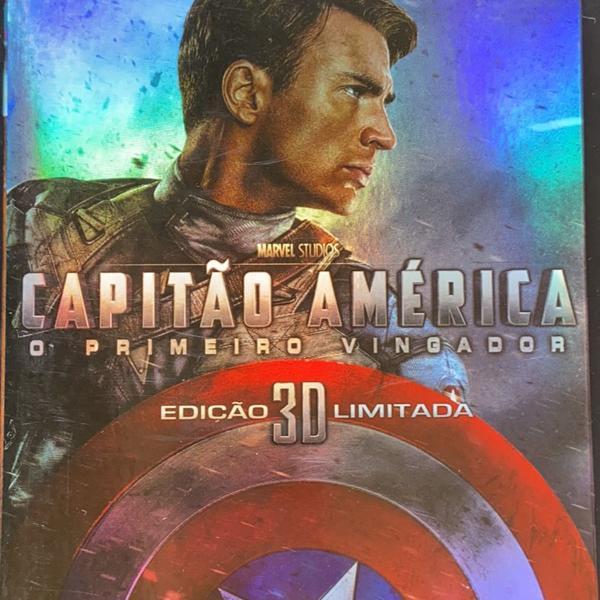 bluray capitão américa