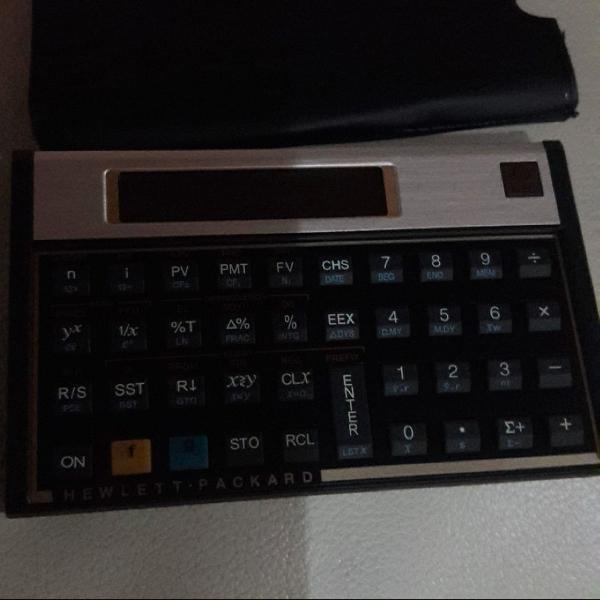 Calculadora financeira hp 12c