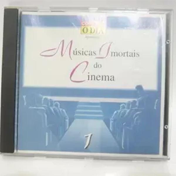 Cd músicas imortais do cinema volume 1.