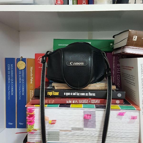 Câmera fotográfica canon analógica