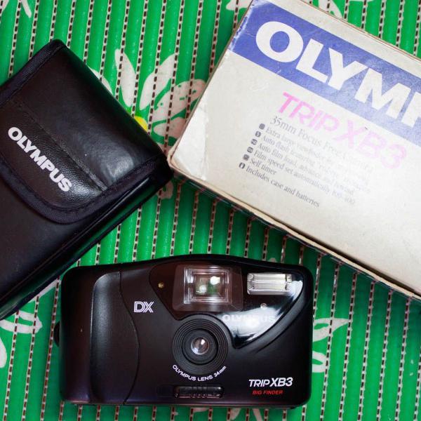 Câmera fotográfica analógica olympus trip xb3