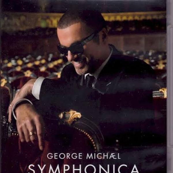 George michael - symphonica - blu-ray raro importado em