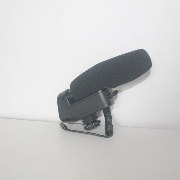 Microfone shotgun insignia