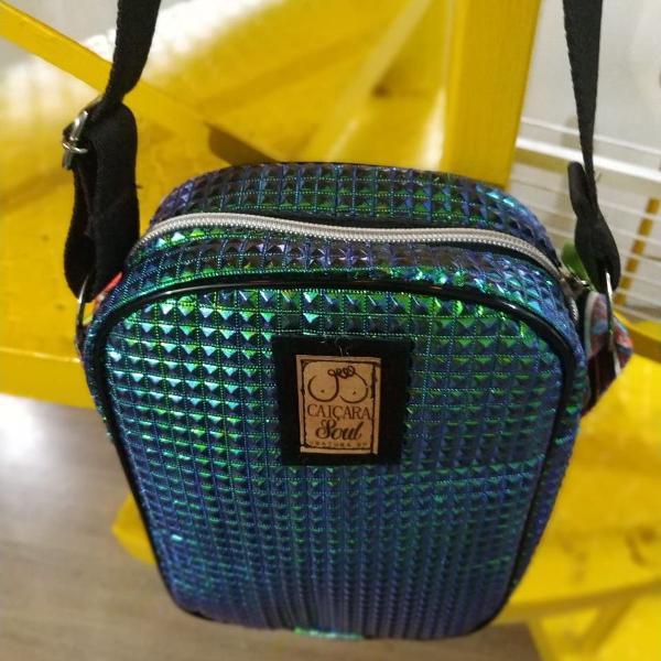 Shoulder bag metalizada