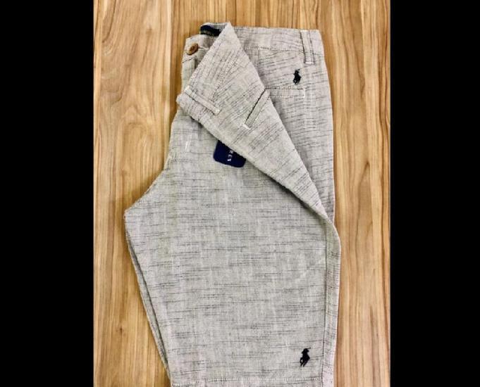 Bermuda de linho importada | outlet bazar fashion