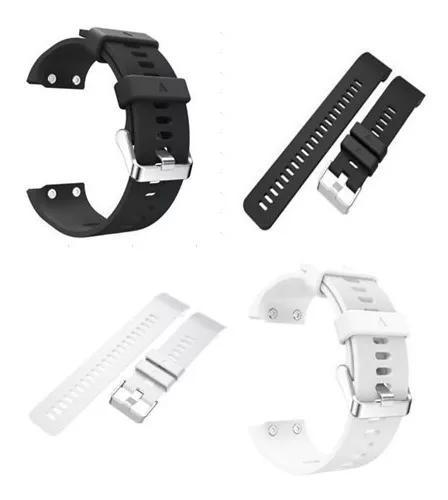 Kit 2x pulseiras relógio garmin forerunner 35 -preto